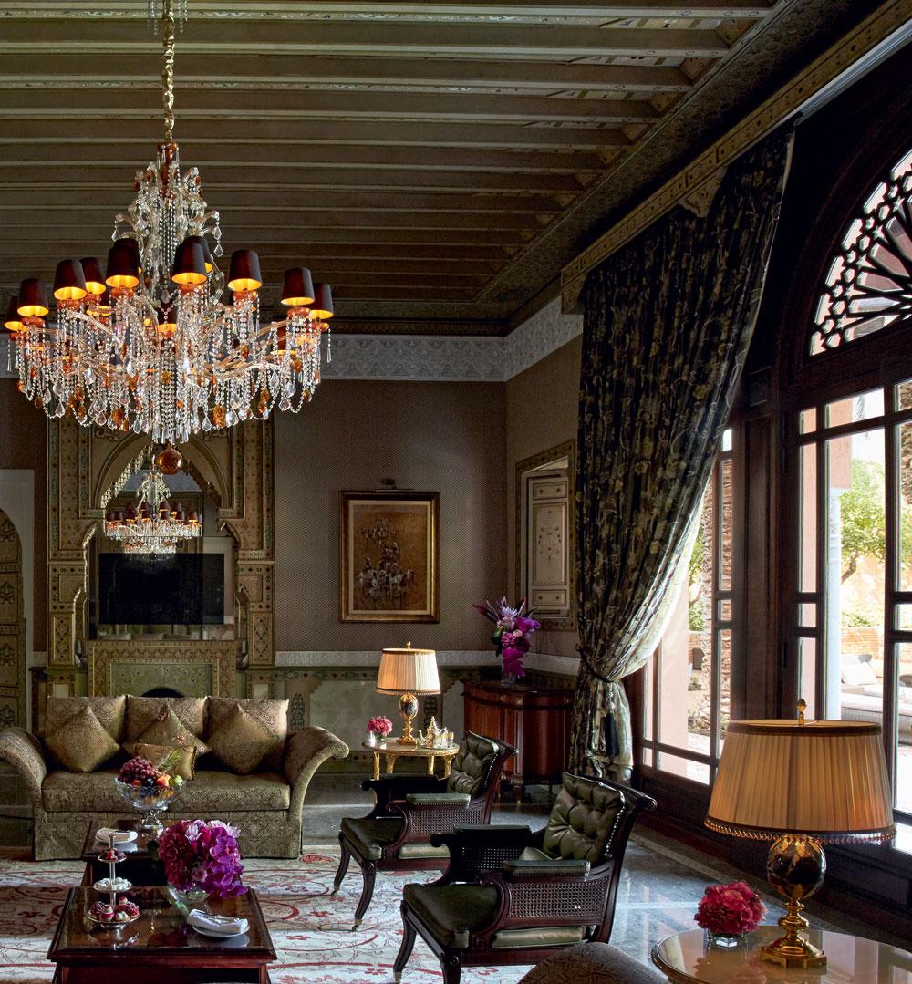 Cuisines Avec Zelliges : Riad d exception à marrakech grand royal mansour