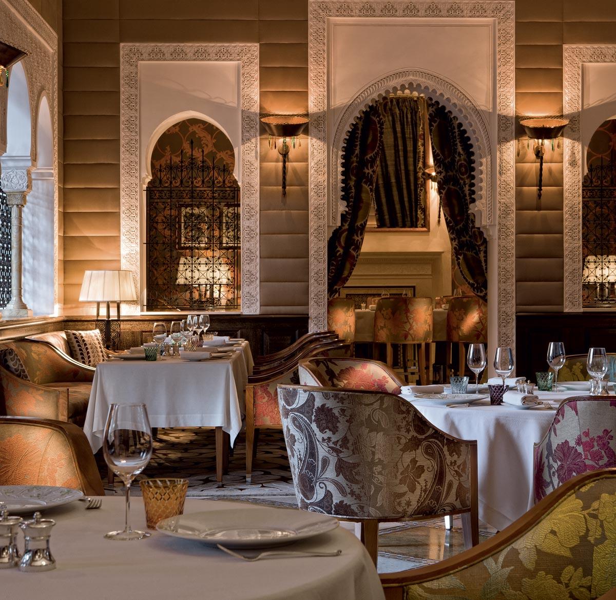 A restaurant that fulfils every desire | Royal Mansour Marrakech