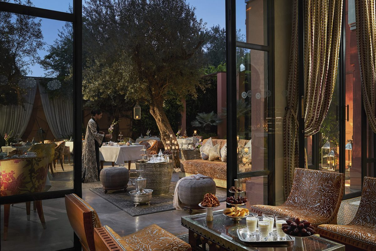 Ftour Ramadan Royal Mansour Marrakech