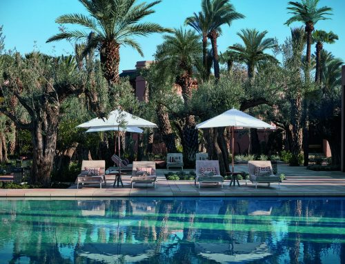 Pool day pass at Le Jardin of the Royal Mansour: a moment of total relaxation