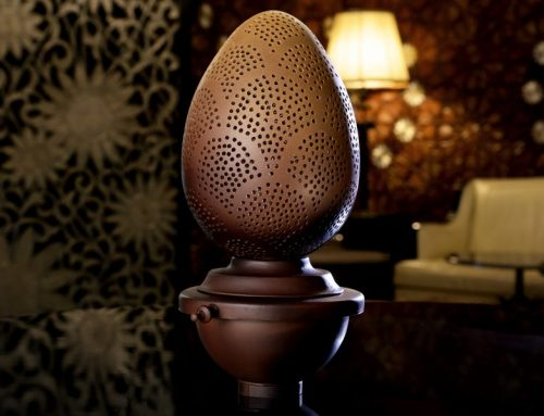 The Royal Mansour Seffarine Egg