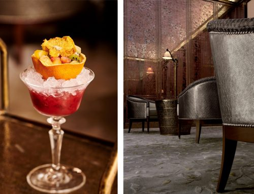 Red Velvet, le cocktail aux fruits rouges du Bar Royal Mansour
